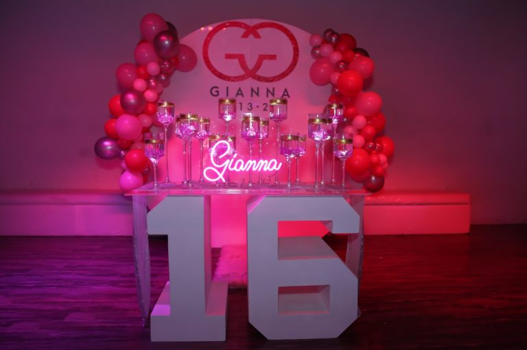 Sweet 16 Party Planner