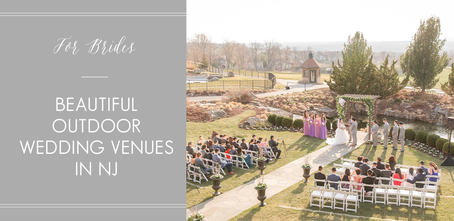 outdoor wedding venues in NJ