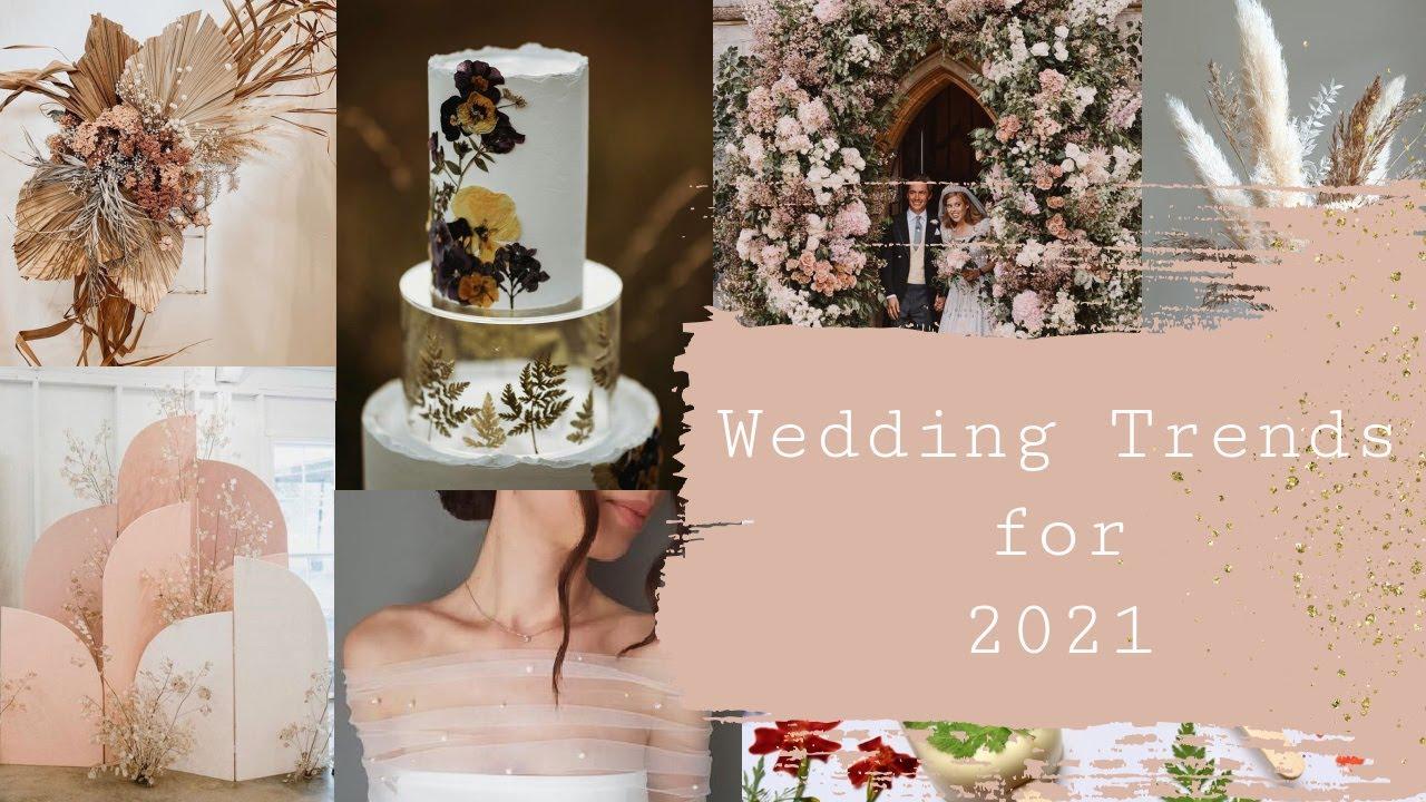 Wedding trend 2021