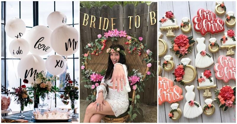 host a bridal shower